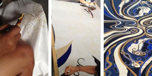Clothing Manufacturing Agent Bali Batik Printing